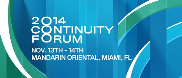 Abc Contuinity Forum 2014